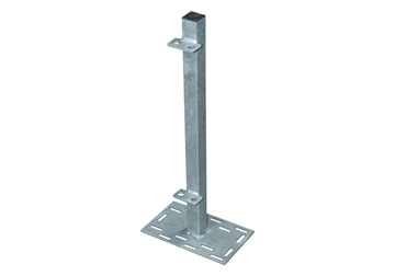 """Picture of Post 30"""" 1 Way W 8"""" X 13"""" PlateW Divider Clips"""