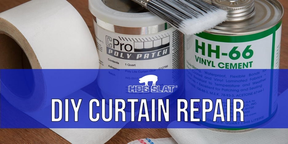 DIY Curtain Repair