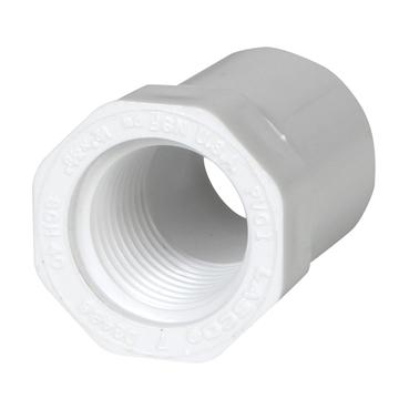 "Bushing Reducer PVC 1-1/2"" Slip x 3/4"" FPT"