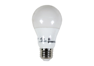 Picture of Bulb LED 9 Watt Dimmable Greenlite 5000K 800Lum