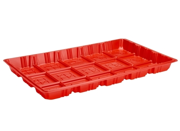 Plastic Chick Feed Tray - Value
