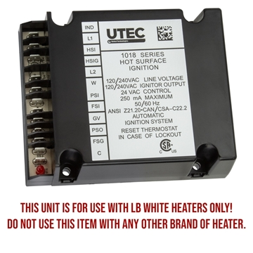 LB White® Guardian® HSI Ignition Control