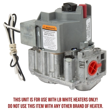 LB White® Honeywell Pilot Gas Valve - LP