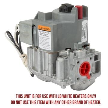 LB White® Honeywell Pilot Gas Valve - NG