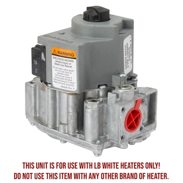 LB White® Gas Valve Guardian® Heaters - NG