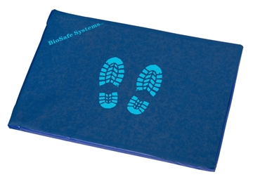 """Picture of Blue Disinfectant Mat (34"""" x 24"""" x 1"""")"""