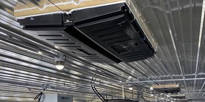 Managing transition ventilation