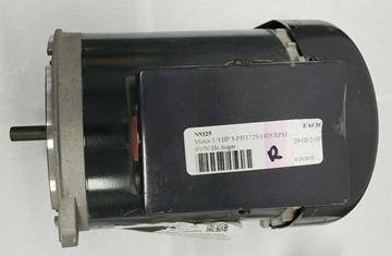 Nidec Auger Motor 1/3 HP 3-Phase 1725/1425 RPM 60/50 Hz