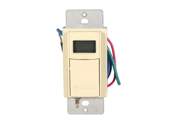 Picture of Timer Digital Wall Timer 120-277V 20A Ivory Intermatic