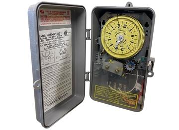 Picture of Timer Clock DPST 24HR 240V W/14 Day Skipper (skip a day)